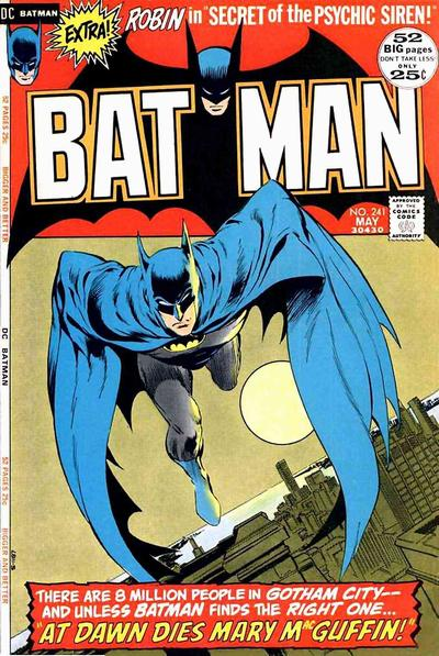 Batman (1940) #241, cover by Berni Wrightson.