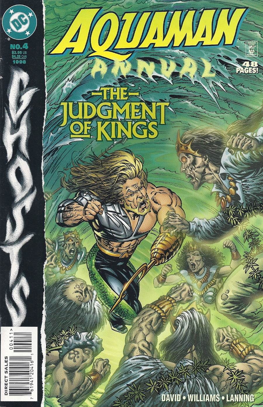 Aquaman Annual (1994) #4, cover by Berni Wrightson.