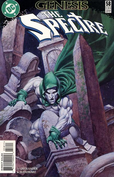 The Spectre (1992) #58, cover by Berni Wrightson.