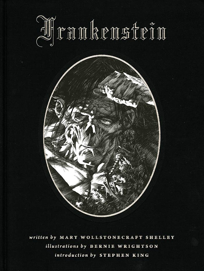 Frankenstein (2008) HC, cover by Berni Wrightson.