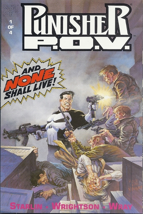 Punisher:P.O.V. (1991) #1, cover by Berni Wrightson.