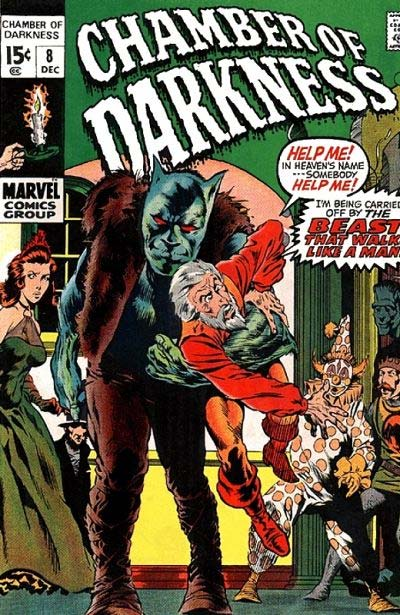 Chamber of Darkness (1969) #8, cover by Berni Wrightson.