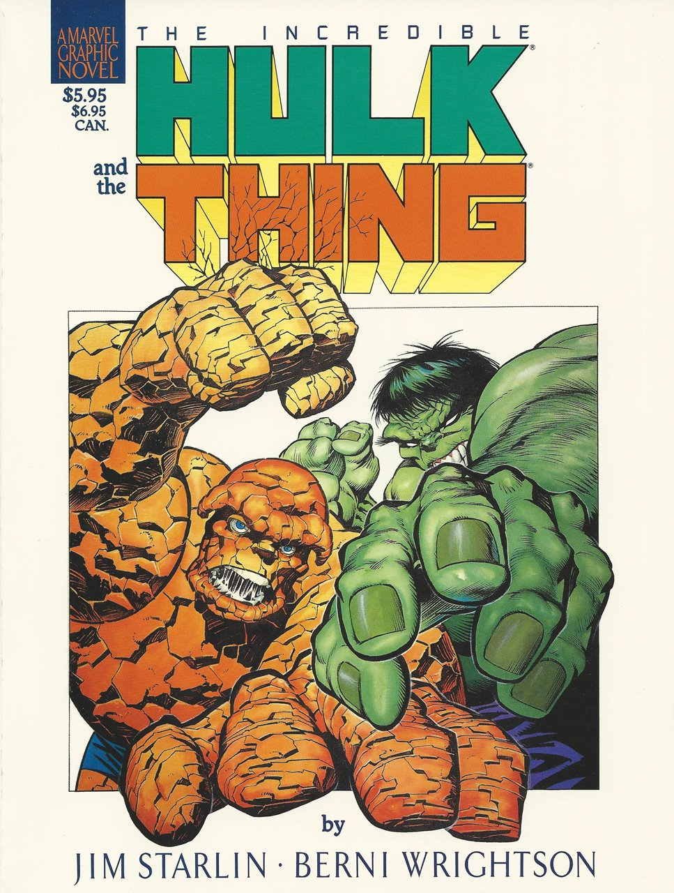 Marvel Graphic Novel (1982) #29, cover by Berni Wrightson.