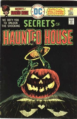 Secrets of Haunted House (1975) #5, cover by Berni Wrightson.