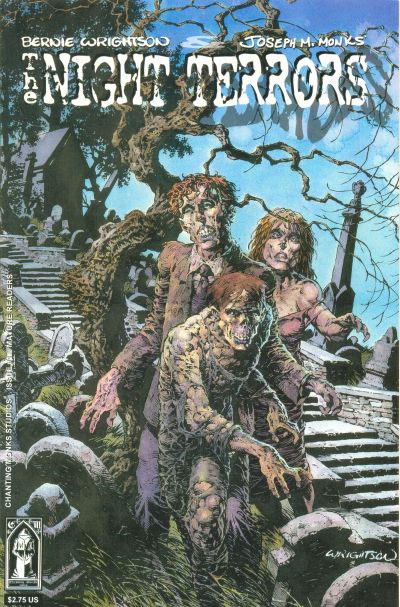 The Night Terrors (2000) #1, cover by Berni Wrightson.