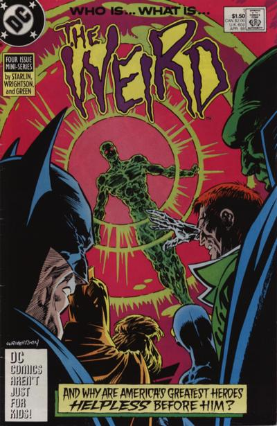 The Weird (1988) #1, cover by Berni Wrightson.