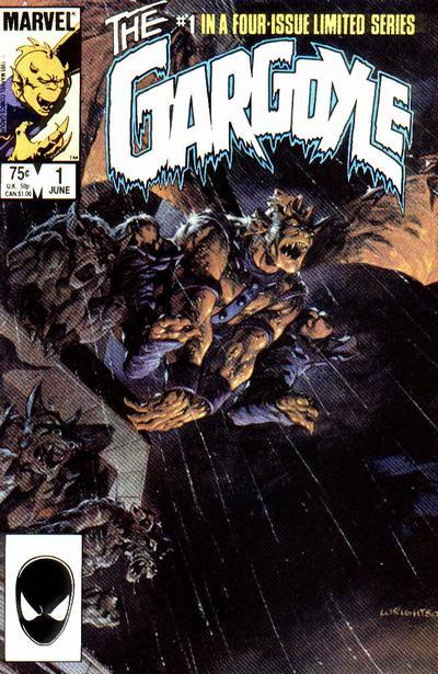 The Gargoyle (1985) #1, cover by Berni Wrightson.