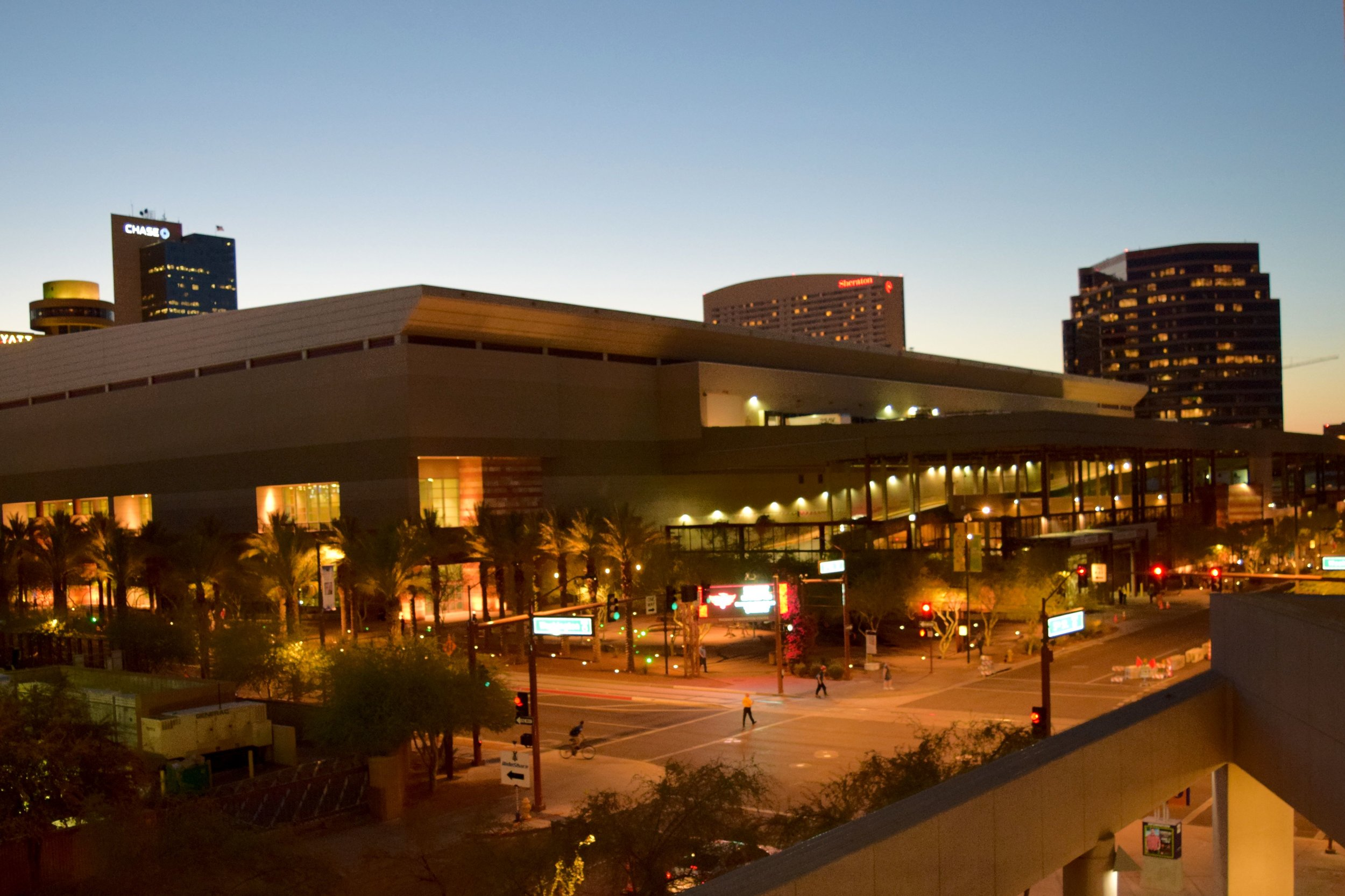 The Phoenix Convention Center.