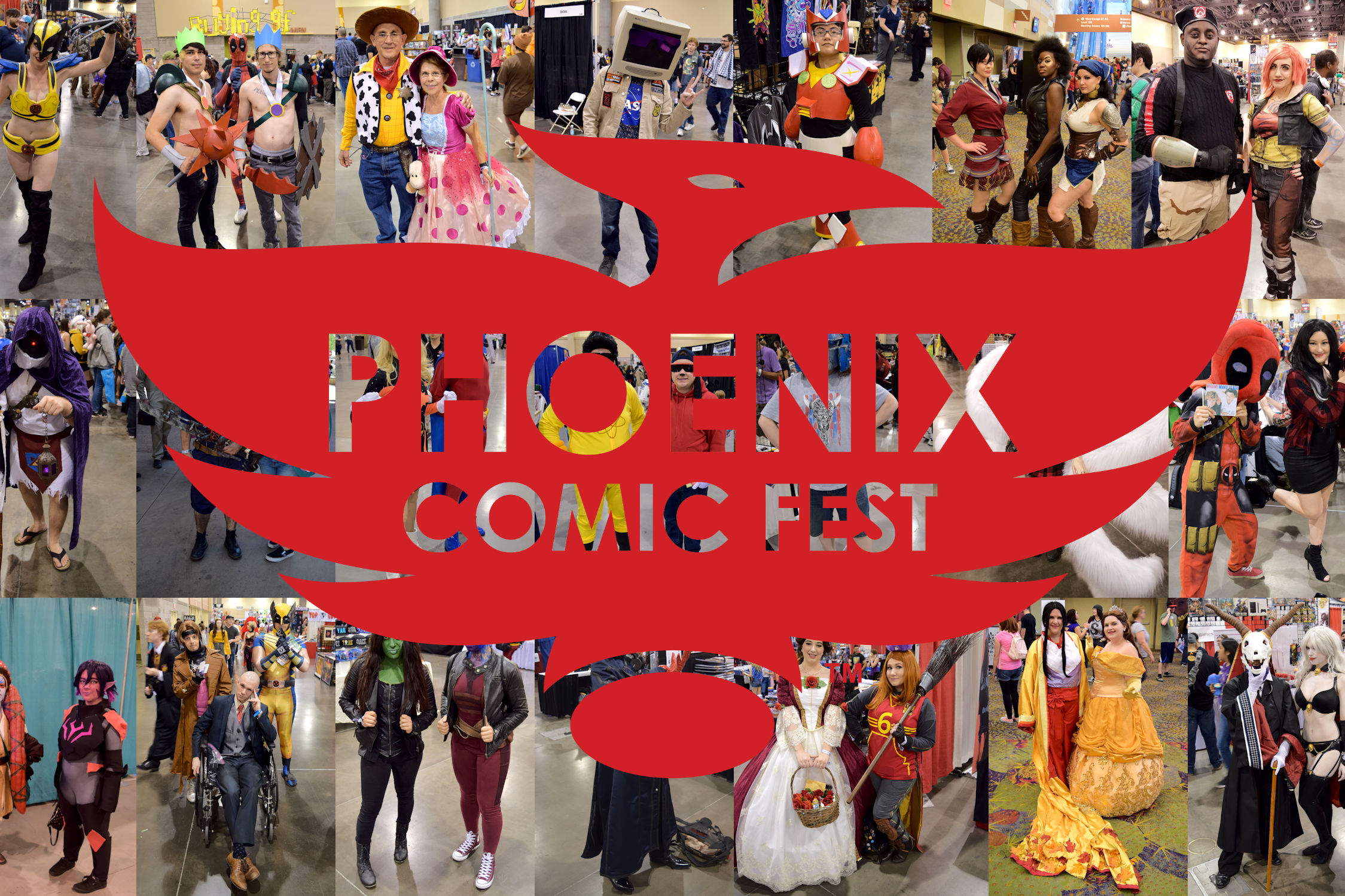 Cosplay at Phoenix Comic Fest 2018 - Over 150 Photos   Written by Neil Greenaway