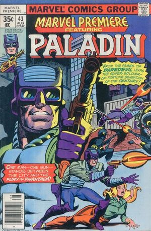 Marvel Premiere (1972) #43, cover penciled by Dave Cockrum and inked by Joe Rubinstein.