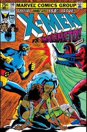 Uncanny X-Men (1963) #150, cover penciled by Dave Cockrum and inked by Joe Rubinstein.