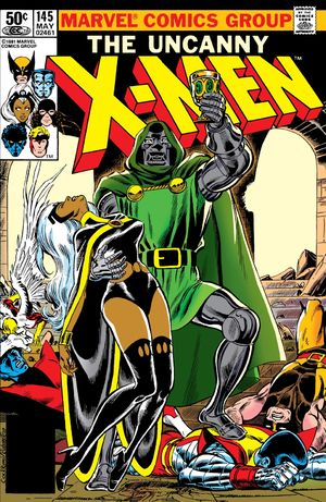 Uncanny X-Men (1963) #145, cover penciled by Dave Cockrum and inked by Joe Rubinstein.