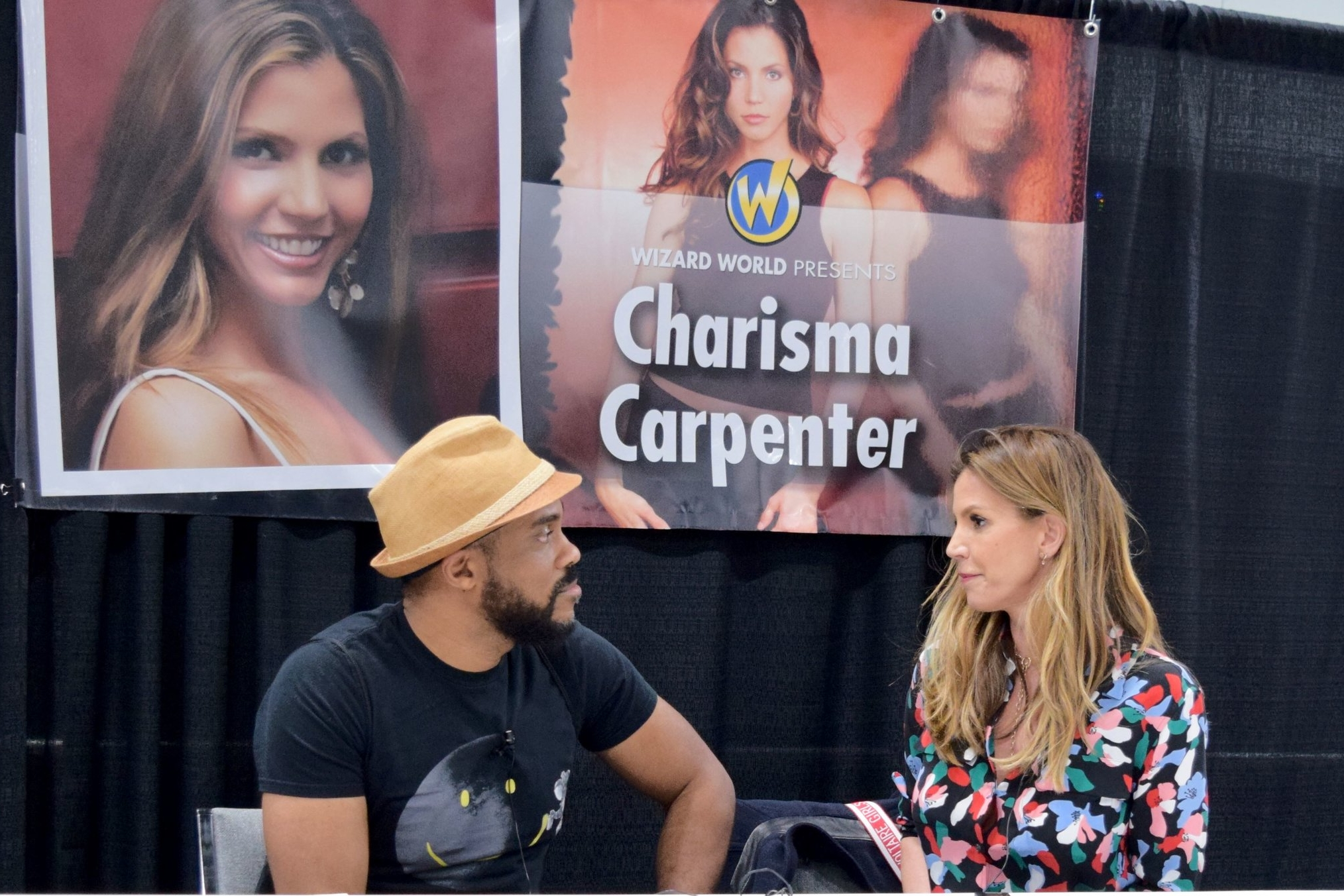 A Stake Through the Art - An Interview With Charisma Carpenter (Wizard World Des Moines 2018)   Written by R. Alan Brooks