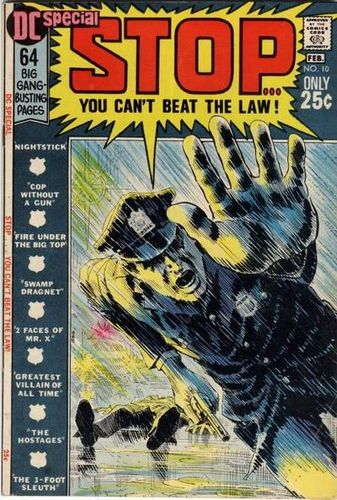 DC Special (1968) #10, cover by Nick Cardy and Jack Adler.