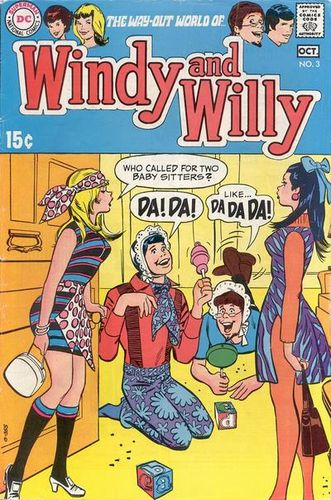 Windy and Willy (1969) #3, cover by Bob Oksner and Jack Adler.