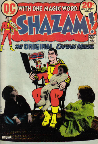 Shazam (1973) #6, cover by CC Beck and Jack Adler.