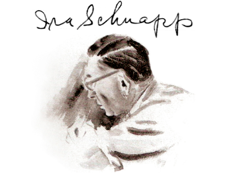 Ira Schnapp - watercolor by Jack Adler