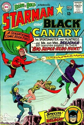 Brave and the Bold (1955) #62, cover by Murphy Anderson and Jack Adler.