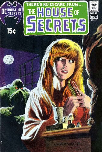 House of Secrets (1956) #92, cover by Bernie Wrightson and Jack Adler.