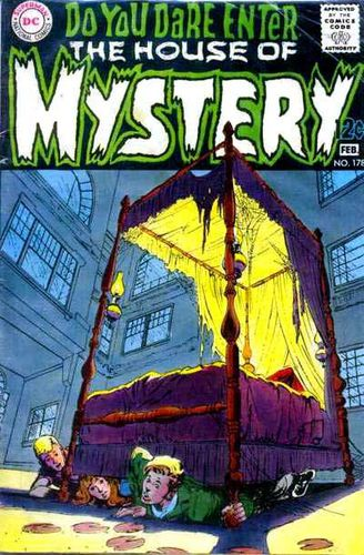 House of Mystery (1951) #178, cover by Neal Adams and Jack Adler.