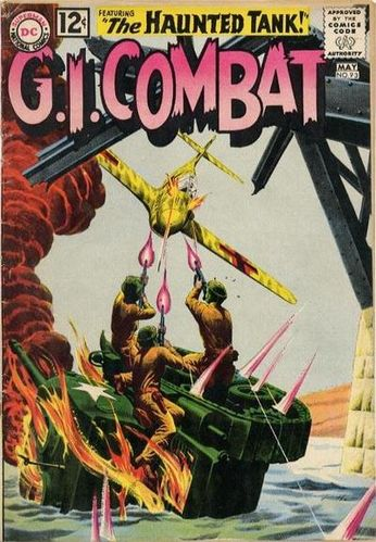 GI Combat (1952) #93, cover by Russ Heath and Jack Adler.