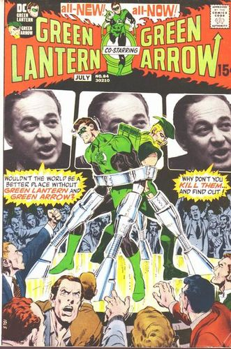 Green Lantern (1960) #84, cover by Neal Adams and Jack Adler.