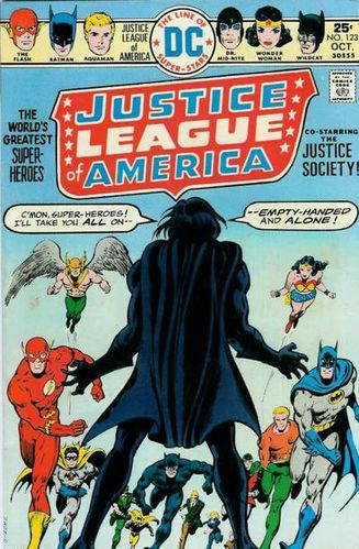 Justice League of America (1960) #123, written by Cary Bates & Elliot S! Maggin.