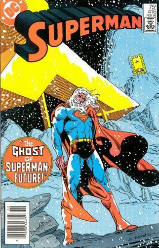 Superman (1939) #416, written by Cary Bates & Elliot S! Maggin.