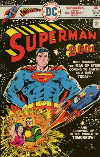 Superman (1939) #300, written by Cary Bates & Elliot S! Maggin.