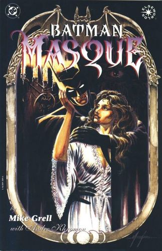 Batman: Masque (1997) GN, written & illustrated by Mike Grell.