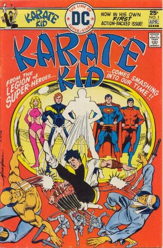 Karate Kid (1976) #1, cover by Mike Grell.