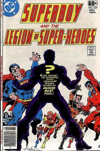 Superboy and the Legion of Super-Heroes (1976) #239, cover by Mike Grell.