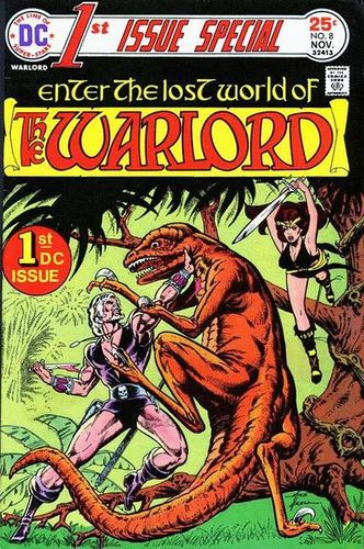 1st Issue Special (1975) #8, cover by Mike Grell.