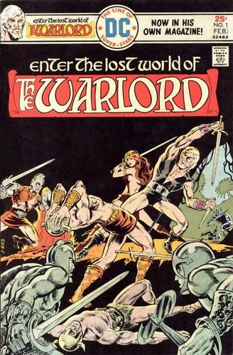 Warlord (1976) #1, cover by Mike Grell.