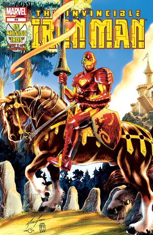 Iron Man (1998) #59, cover by Mike Grell.