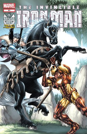 Iron Man (1998) #60, cover by Mike Grell.