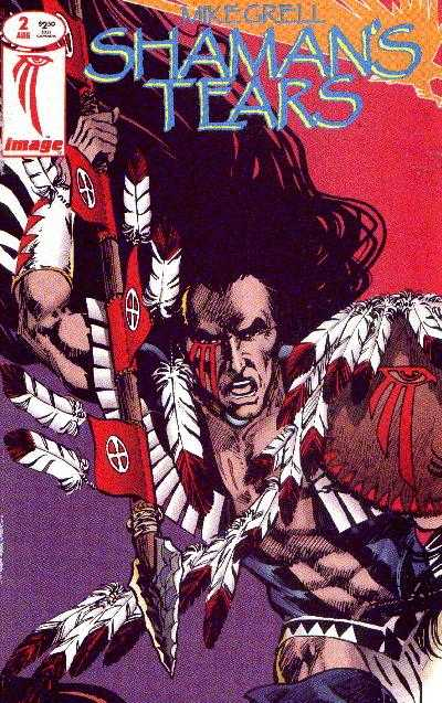 Shaman's Tears (1993) #2, cover by Mike Grell.