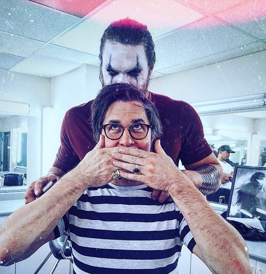Corin Hardy  with  Jason Momoa  as  The Crow .
