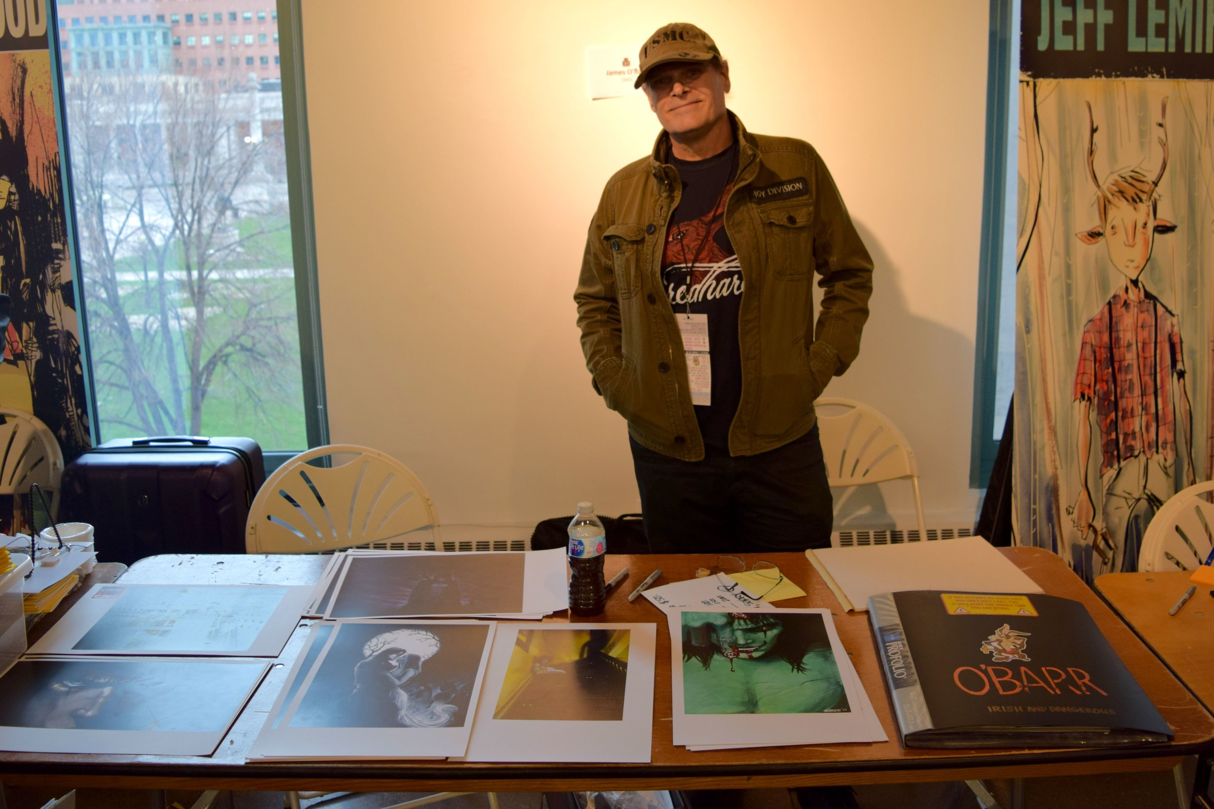 An Interview With Indie Comics Icon James O'Barr (DINK! 2018)   Written by Neil Greenaway