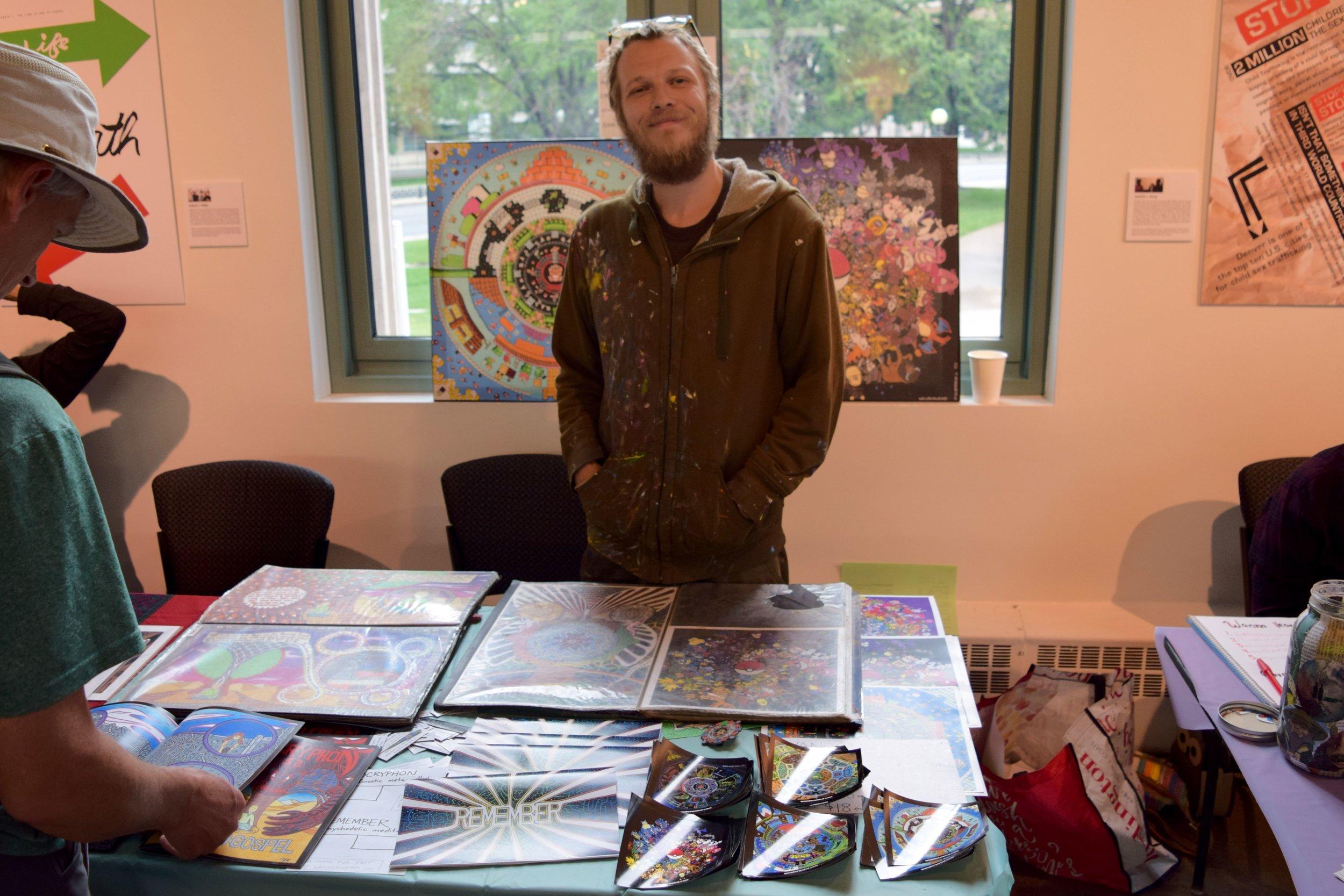 Wanderweird  at  Denver Zine Fest 2018 .