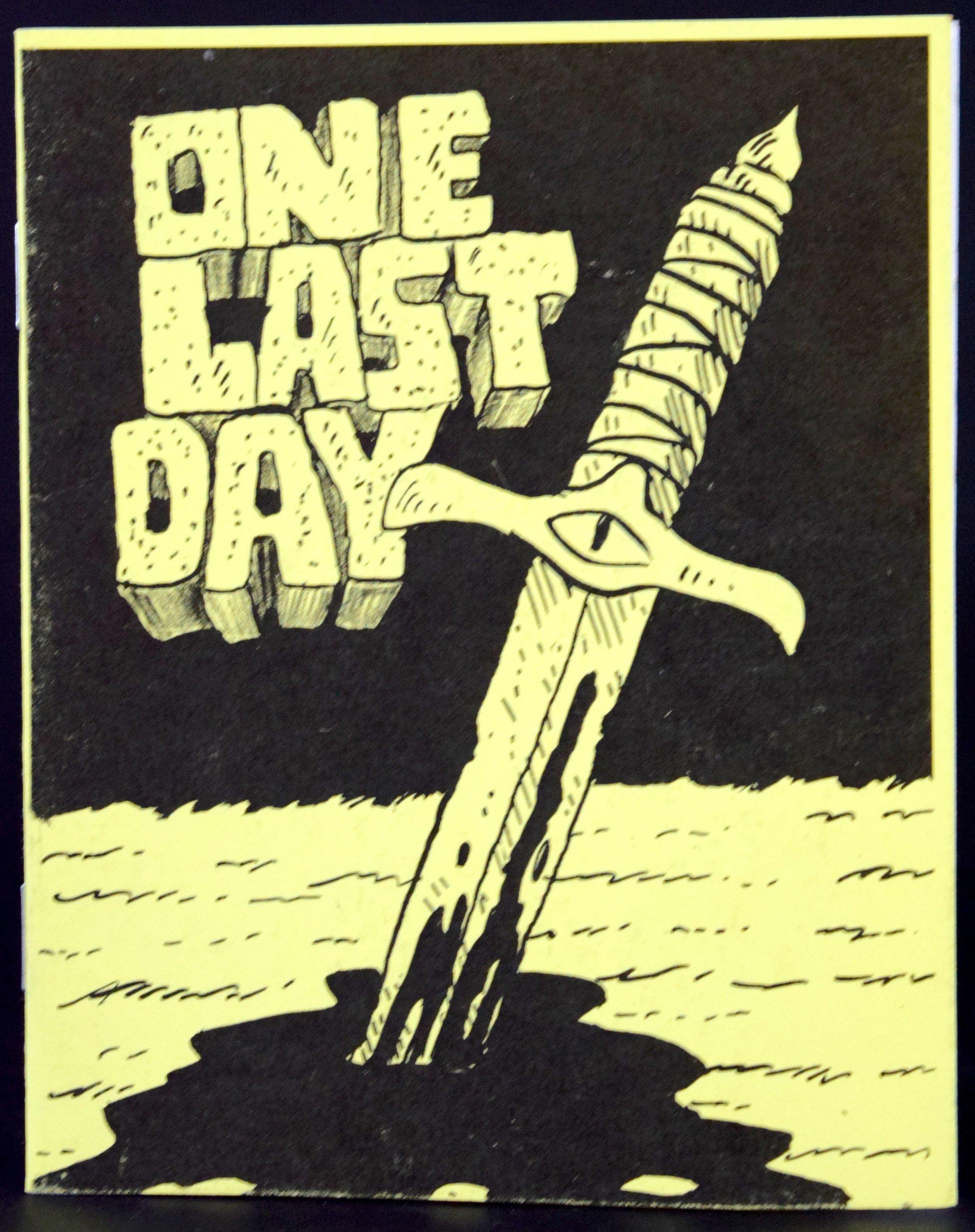 One Last Day Mini-Comic by  Adam Yeater .