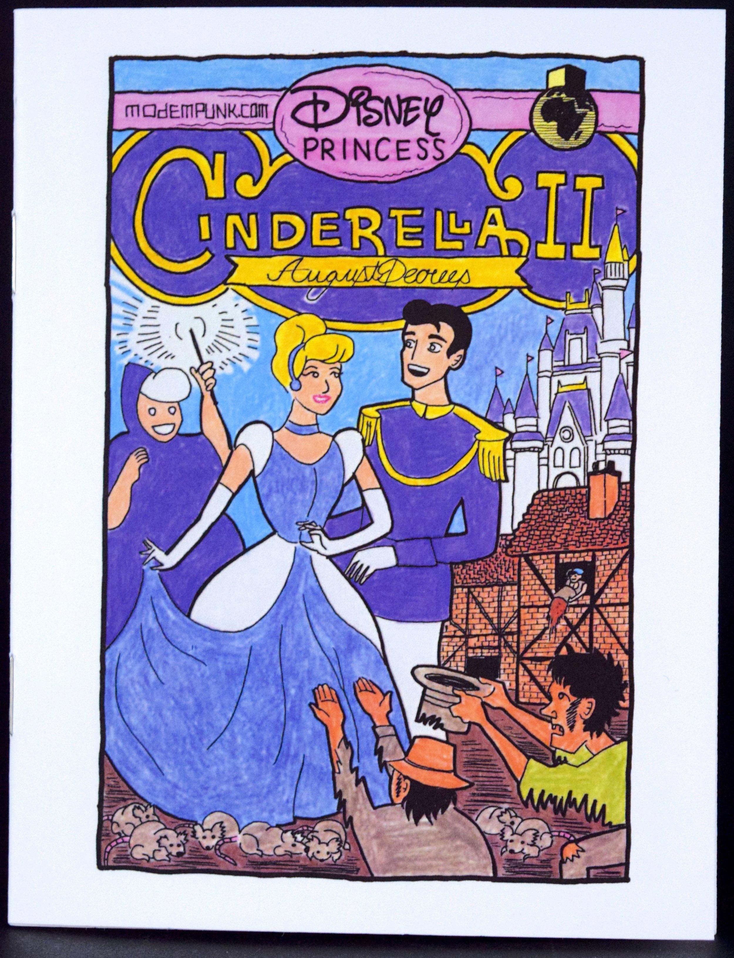 Cinderella II  mini-comic by  Zac Finger .