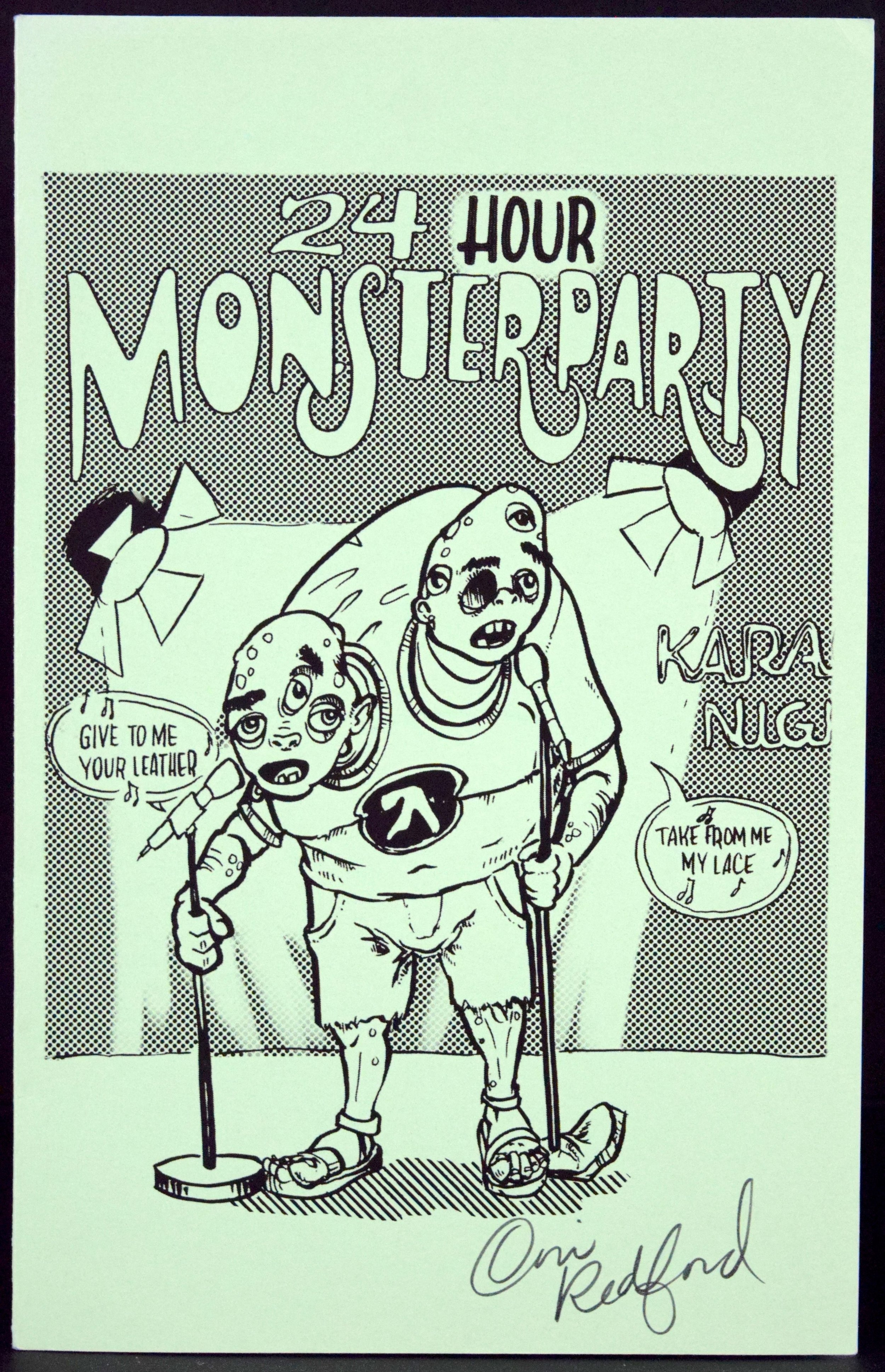24 Hour Monster Party  by  Cori Redford .