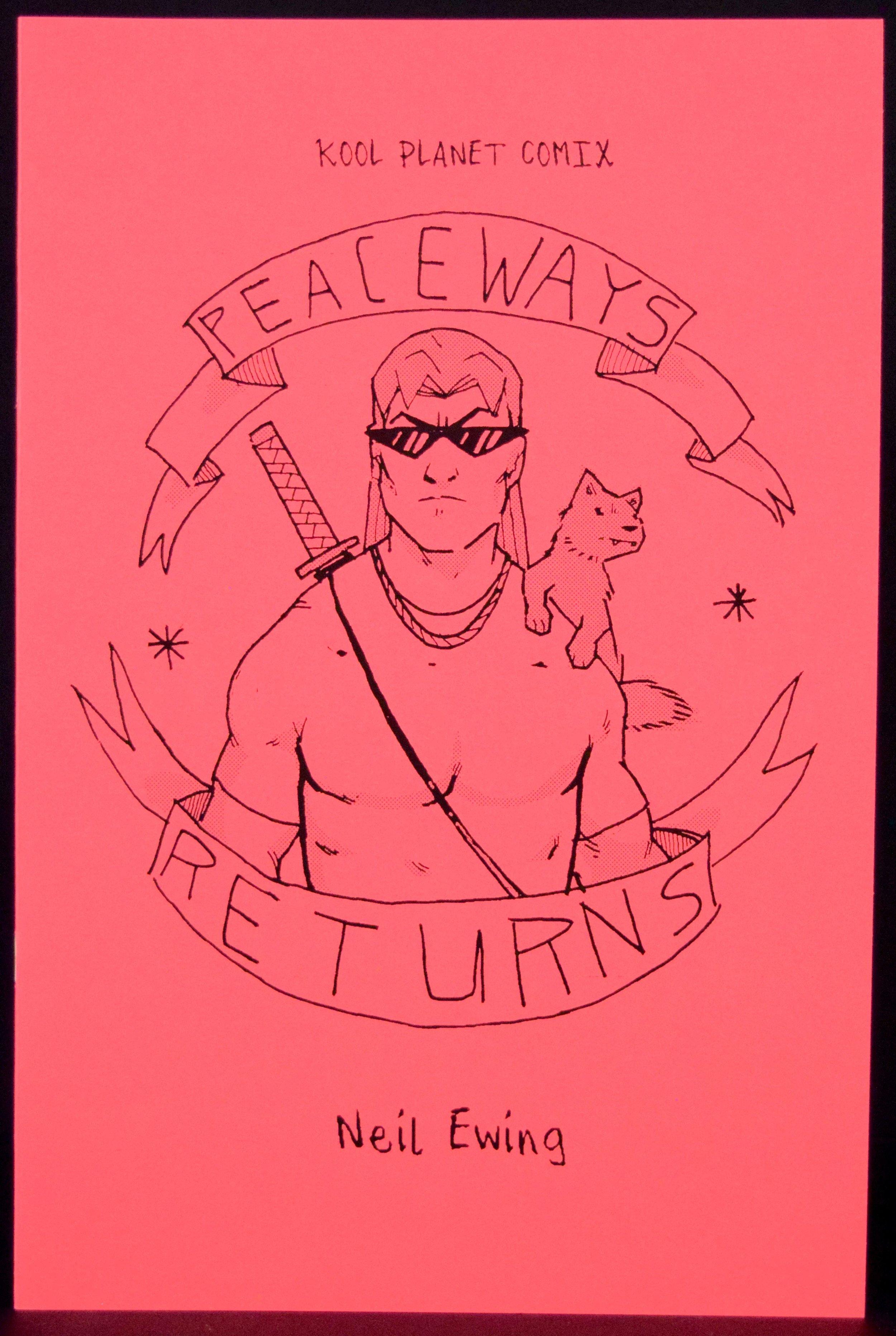 Peaceways Returns  by  Neil Ewing .