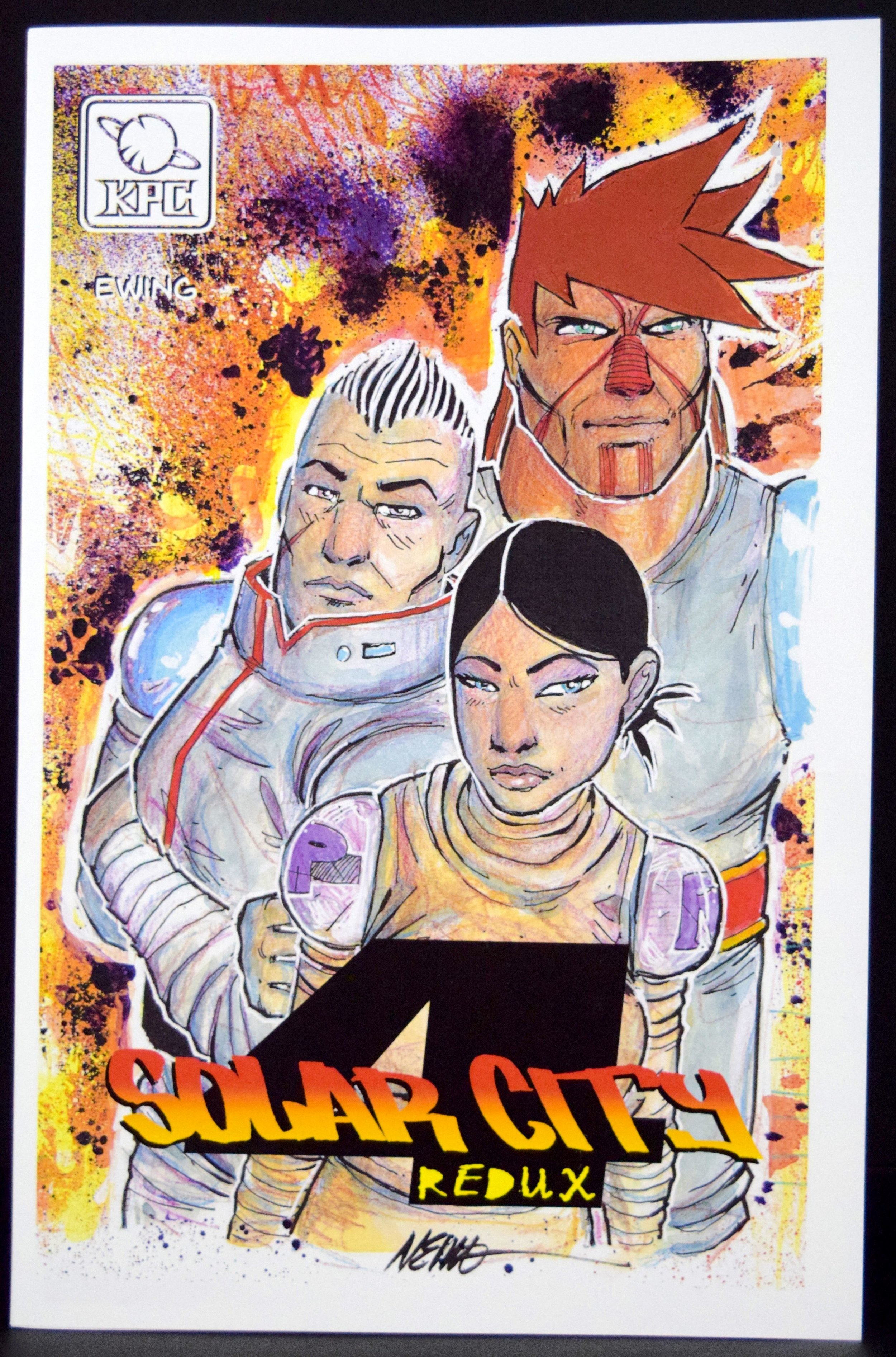 Solar City 4: Redux  by  Neil Ewing .