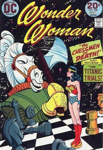 Wonder Woman (1942) #208, cover by Ric Estrada.