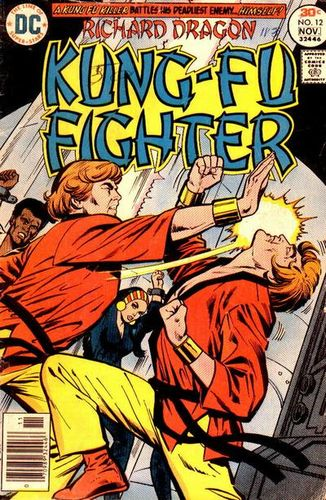 Richard Dragon Kung-Fu Fighter (1975) #12, cover by Ric Estrada.