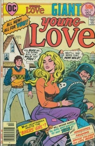 Young Love (1949) #121, cover by Ric Estrada.
