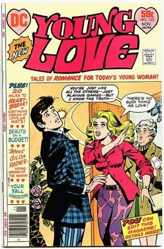 Young Love (1949) #122, cover by Ric Estrada.