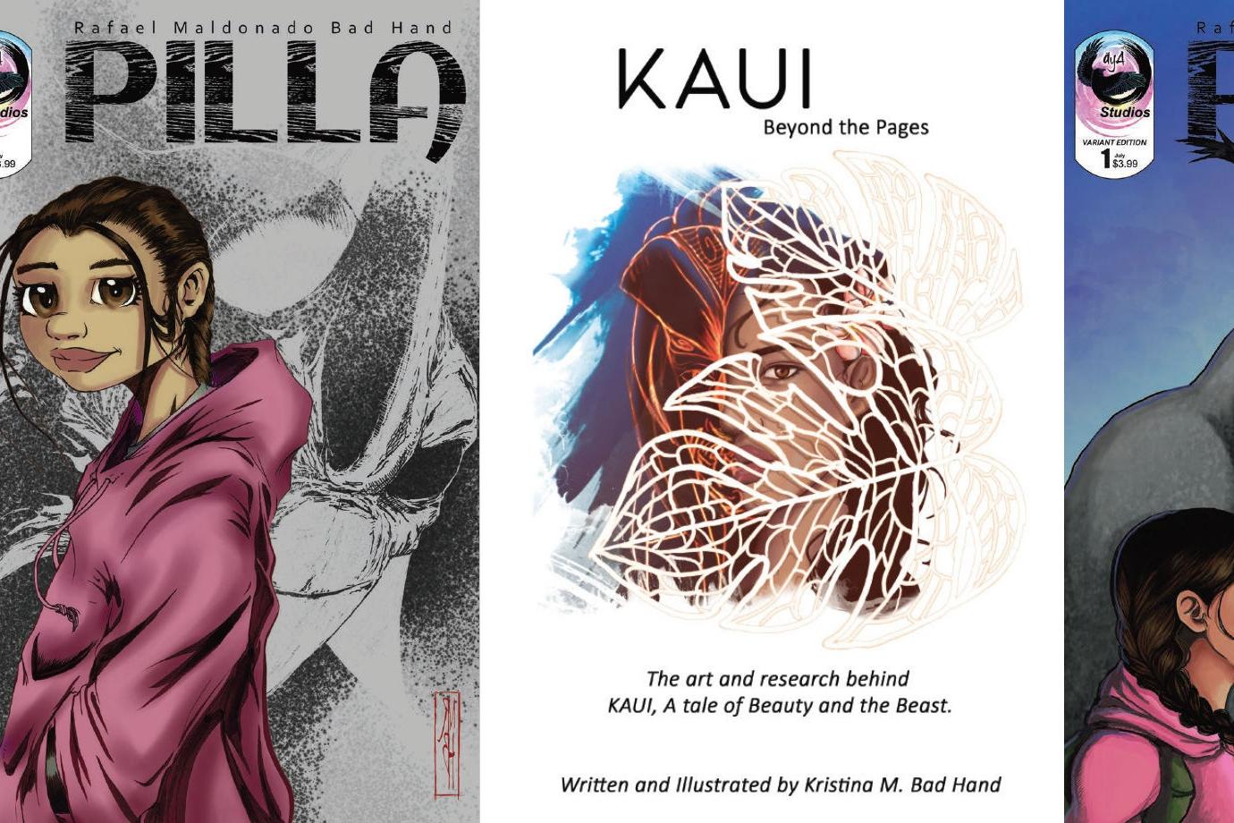 Pilla, Kaui, & áyA Studios - An Interview With Rafael & Kristina Maldonado-Bad Hand (DINK 2018)   Written by Neil Greenaway